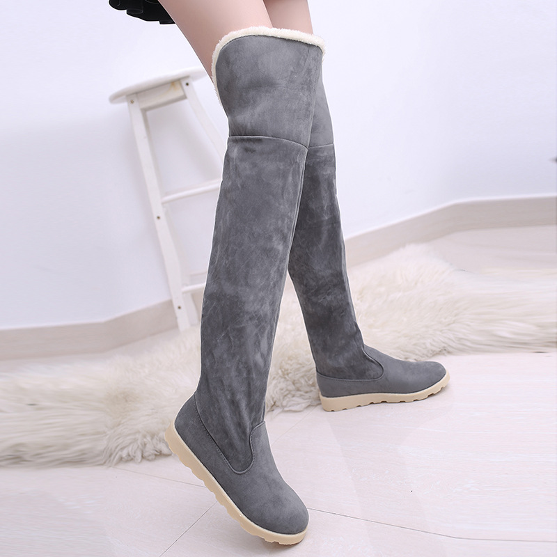 1cb12cd921e4 Winter Explosion Models Snow Boots Women Over the Knee Shoes Female In Tube  Long Boots Tenis Feminino Zapatos Mujer Size 34 43-in Over-the-Knee Boots  from ...