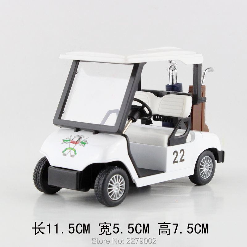 KINSFUN plastic toys/simulation Golf Cart toys /Only suitable for childrens toys or gifts/very small