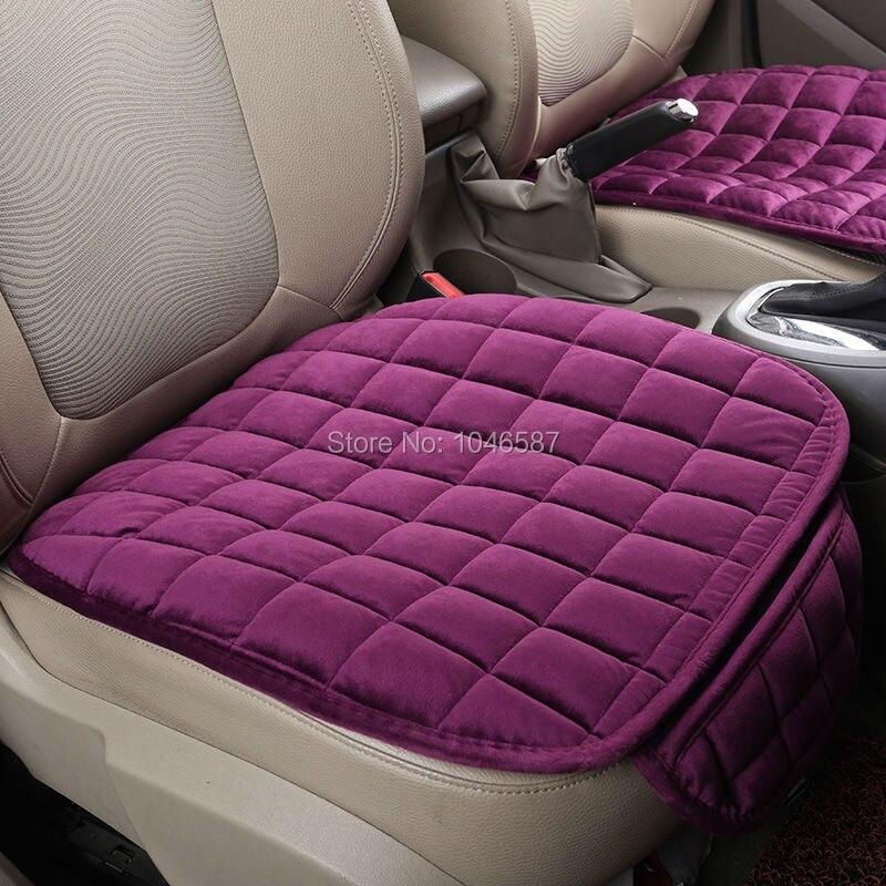 Warm Car Seat Cushion, Luxurious Driver Seat Cover Car Single Covers ...
