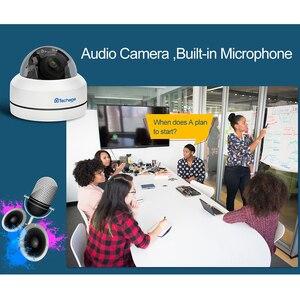Image 5 - Techage 1080P 4X Zoom PTZ POE IP Camera Mini Speed Dome Âm Thanh Chống Nước 2MP Camera Quan Sát An Ninh P2P Onvif video POE Giám Sát
