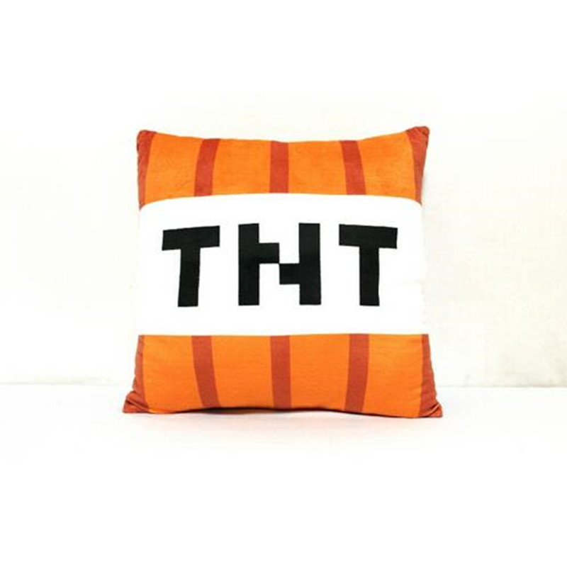 New font b Minecraft b font Plush Pillow 40cm font b Minecraft b font TNT Plush