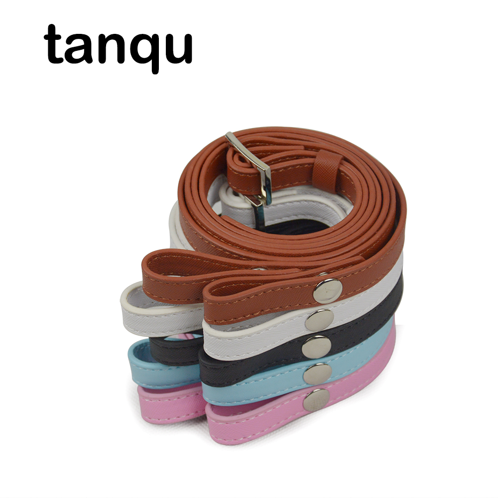 Tanqu Long Adjustable Strap Belt For Mini Bag O Pocket Women Handbag Handles Faux Leather Handles For OBag Basket Moon Swing
