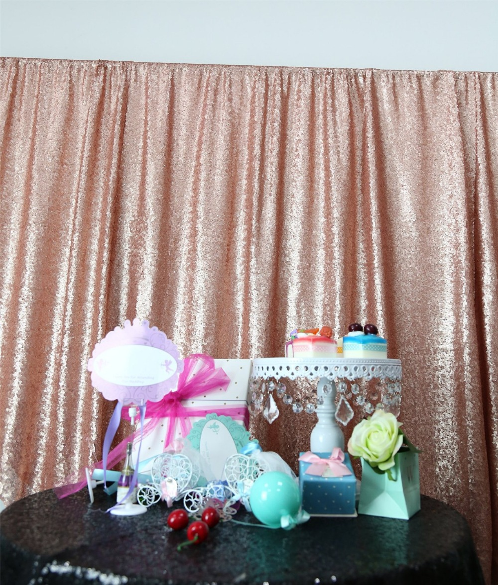 Pink Sequin Curtains Shinybeauty 10x10ft Blush Pink Sequin Backdrop Photography