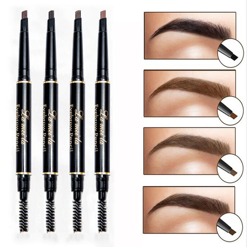 New Brand Eye Brow Tint Cosmetics Natural Long Lasting Paint Tattoo Eyebrow Waterproof Black Brown Eyebrow Pencil Makeup ...