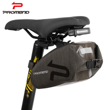 PROMEND Folding Bike Bag Bicycle Cover Saddle Tail Seat Waterproof Storage Frame Bags Cycling MTB Rear