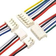 цена на ZH1.5mm ZH1.5 Female Connector Electronic Wire Terminal Cable 10cm line 2p 3p 4p 6p 8p 9p 10p  Single / Double Head 10CM