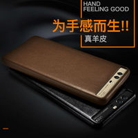 Original For HUAWEI P10 Case Luxury Genuine Leather Slim Back Cover Phone Cases Bag For HUAWEI