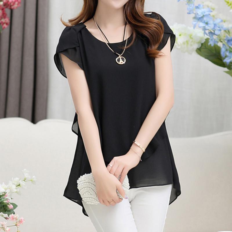short sleeve chiffon blouse (17)