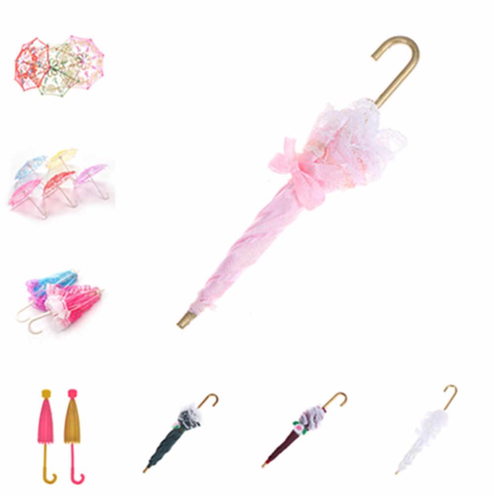 2020 レース傘人形アクセサリー手作り人形の刺繍傘人形玩具アクセサリー新しいスタイルのギフト子供