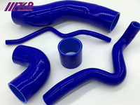 Silicone Turbo Induction Hose Pipe For V.W Golf IV MK4 BORA 1.8T JETT.A 96 05 (5PCS) red/blue/black