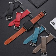Strap For Apple watch band 4 44mm 40mm leather watchband iwatch correa 42mm 38mm bracelet belt for apple watch 3 2 1 Accessories strap for apple watch band apple watch 4 3 2 iwatch band 42mm 44mm 38mm 40mm correa bracelet silicone watchband belt accessories