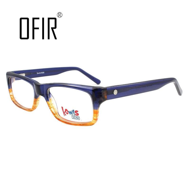 Niños Niñas niños marcos ópticos Gafas marcos llanura espejo marca ...