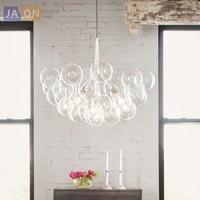 LED Постмодерн Нордик Железные Стеклянные Пузыри Дизайнерские Светодиодные Лампы.Светодиодные Светильники Люстры Подвесные.Светильники По