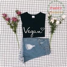 Cute Vegan Heart girlie