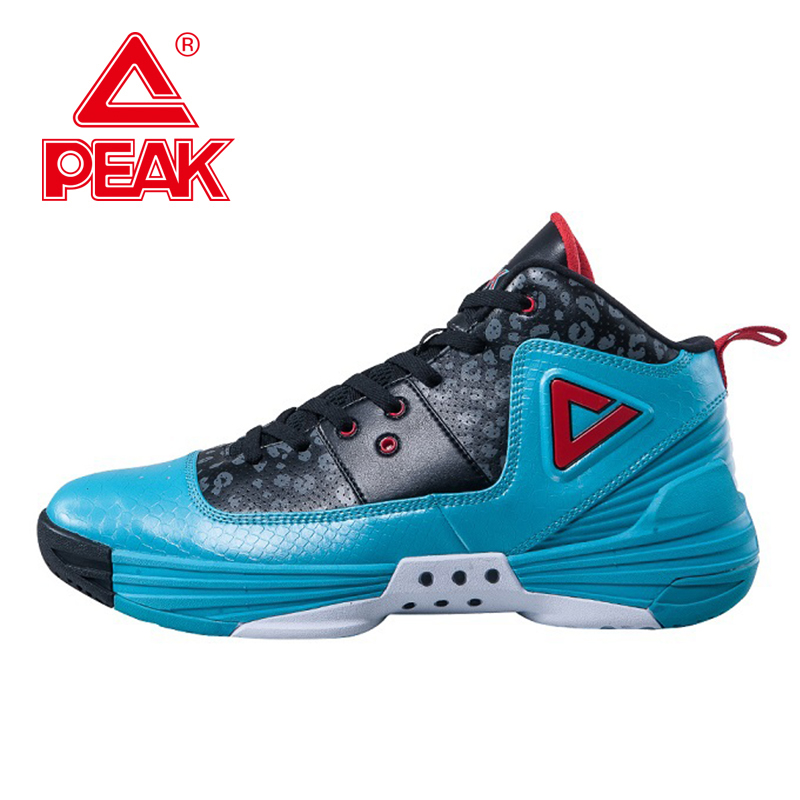 PEAK SPORT Monster II Men Basketball Shoes FOOTHOLD Tech Sneaker Non-Slip Breathable Comfortable Athletic Ankle Boots EUR 40-50 peak sport lightning ii men authent basketball shoes competitions athletic boots foothold cushion 3 tech sneakers eur 40 50