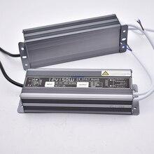 Постоянная Напряжение DC 12 V 24 V Мощность поставить IP67 Водонепроницаемый трансформатор 30 Вт 60 Вт 100 Вт 150 Вт Светодиодный светильник драйвер