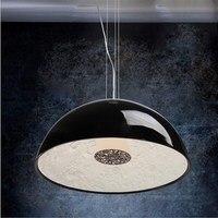 D40cm 60cm Modern Black White Sky Garden Pendant Lamp Lights E27 Light Best Decoration Lamp For