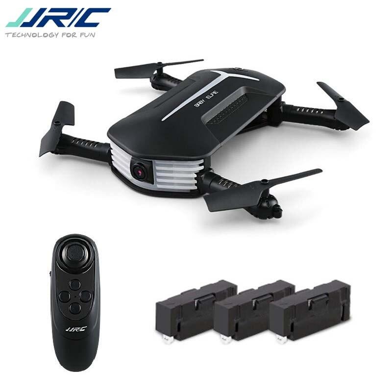 Лучшее предложение JJRC H37 мини-Elfie Selfie 720 P WI-FI FPV высота Удержание Headless режим g-сенсор Радиоуправляемый Дрон Quadcopter вертолет RTF