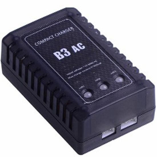 RC charger B3 B3AC Lipo battery charger 2S/3S 18W Charging for 7.4v 11.1v Li-polymer Lipo Battery Charger 2s 3s Cells RC lipo 3pcs battery and european regulation charger with 1 cable 3 line for mjx b3 helicopter 7 4v 1800mah 25c aircraft parts