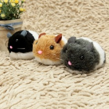 1PC Cat Toys Pulling Chain Shock Shake Interactive Pet Rat Artificial fur For Gatos