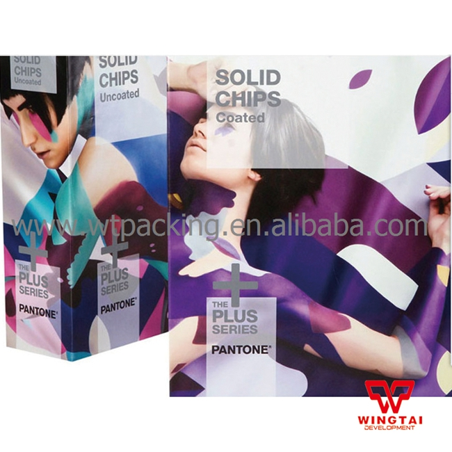 New International Pantone SOLID CHIPS Coated & Uncoated Color Chart GP1606N 2 book pantone colour chart gp1606n solid chips coated