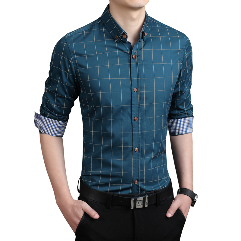Popular Mens Shirts Casual Slim Fit-Buy Cheap Mens Shirts Casual ...