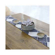 Lychee Japanese Wave Pattern Table Runner Creative Simple For Wedding Party Home