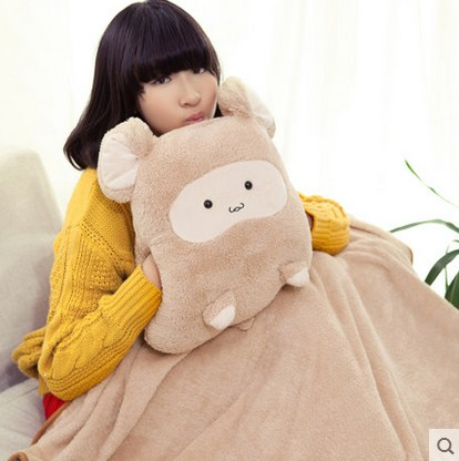 Warm Hand Pillow Doll Cartoon Chinchillas Plysch Toy Panda - Plysch djur