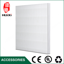 Hot Sale DIY White plicated Filter Screen for Universal to filter PM2.5 and Haze to Cleaning Home Air Purifier Filter