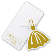 free shipping customized clothing bags paper hang tags/labels swing tags 1000 pcs a lot