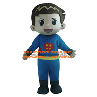 Маскарадные костюмы головка пены Маскоты костюмы/первой помощи и прохладный детская одежда мини Супермен Маскоты костюм