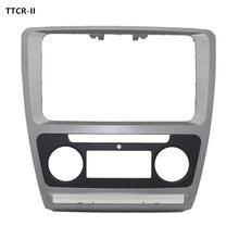 Fascias do carro 2013 para skoda octavia dvd navegação caixa de conversão áudio/painel/modificação suporte/caixa lateral