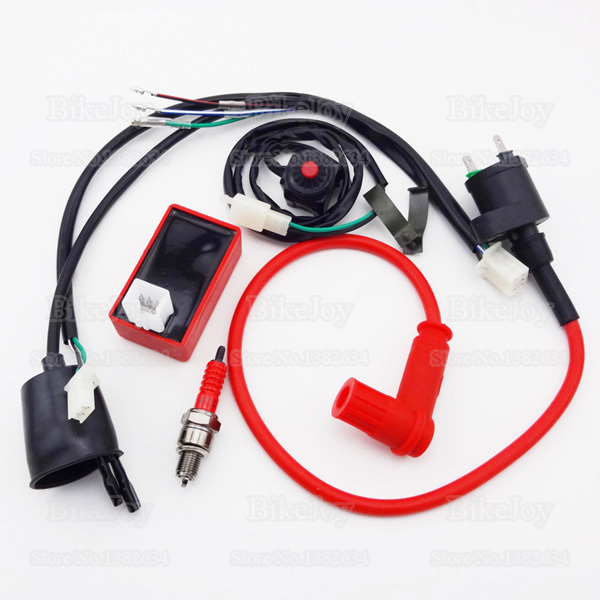 wiring loom harness kill switch racing ignition coil 5 pin ac cdi rh aliexpress com