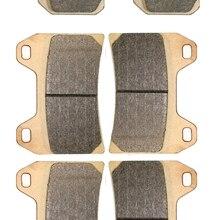 Тормозные колодки для таблеток комплект подходит для Aprilia Street RSV1000 RSV 1000 Tuono V4R 2011 2012 Передняя Задняя