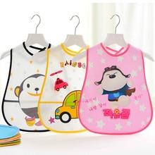 Baby Three-dimensional Saliva Towel Rice Pocket EVA Bib Waterproof Gown New Convenient and Practical Stuff
