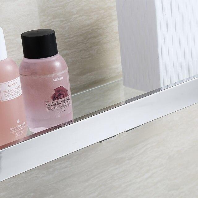 Online Shop BLHTZ05 Glas Badkamer Planken Shampoo Houder Rvs Plank ...