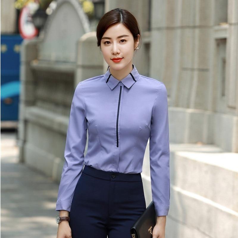 Aliexpress.com: Comprar Nuevo 2018 mujeres Formal blusas y