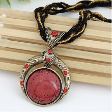 Retro Bohemia Style Pendant Necklace