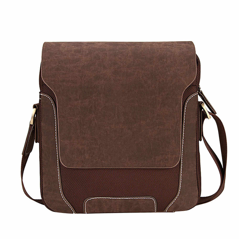 nuevo lanzamiento calidad primero bien baratas Men's Messenger Bags Fashion Designers Brand Oxford Vintage Mens Handbag  bolso hombre bandolera hombre de pecho
