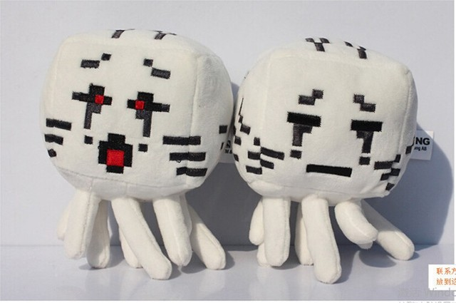 Us 35 Arrival Minecraft Ghost Plush Toys High Quality Stuffed Plush Toys Minecraft Cartoon Game Toys Soft Toy For Kids Party Gifts In Movies Tv