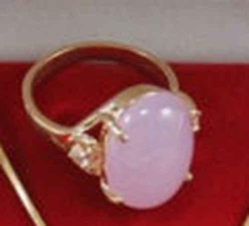 การจัดส่งสินค้า> >>>สวยสีม่วงหยกแหวนผู้หญิง7 # G103