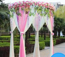 New wedding props, pavilion, round ceremony flower house, happy pavilion shelf, 2019