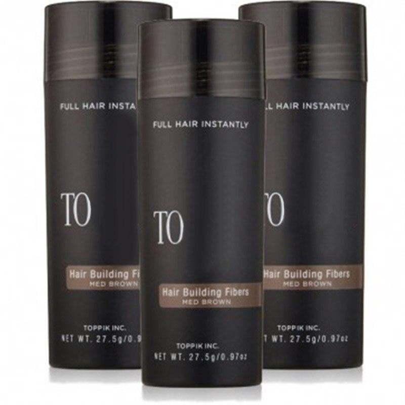 Salon Beauty Hair Fiber Keratin 27.5g Hair Building Fibers Powder Hair Loss Concealer Hair