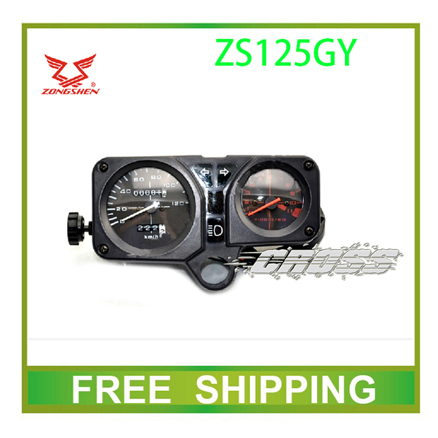 ZS125GY PIAGGIO  zongshen dirtbike speedometer odometer instrument motorcycle accessories free shipping