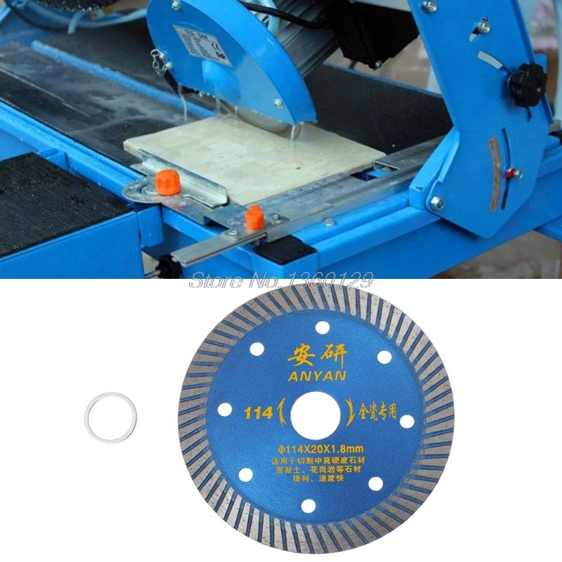 4.5 Inch Diamond Ceramic Saw Blade Disc Wheel Sharp Cutter Porcelain Tile Marble New Dec10 Wholesale&DropShip