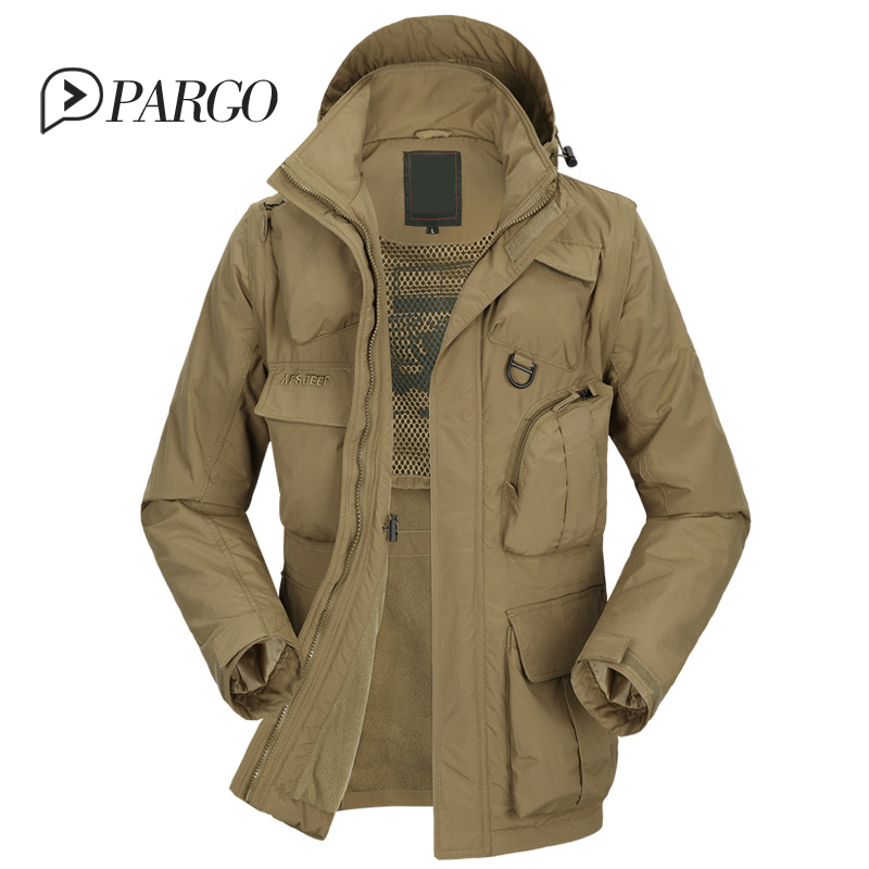 2016 winter mens clothing casual men's jackets thick warm ...