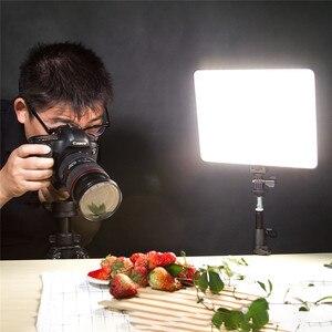 Image 4 - VILTROX cámara de fotos inalámbrica con control remoto, VL 200 de 12,4 pulgadas, luz LED bicolor regulable y adaptador de corriente CC para Canon y Nikon