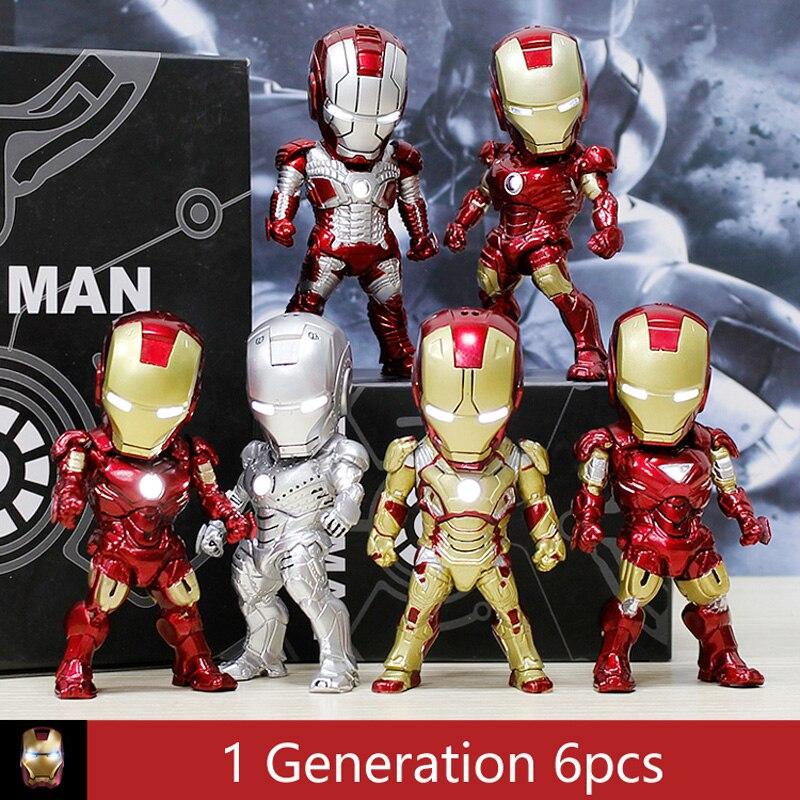 33 styles Iron Man MK Mark 1 2 6 7 20 42 43 44 45 Hulkbuster