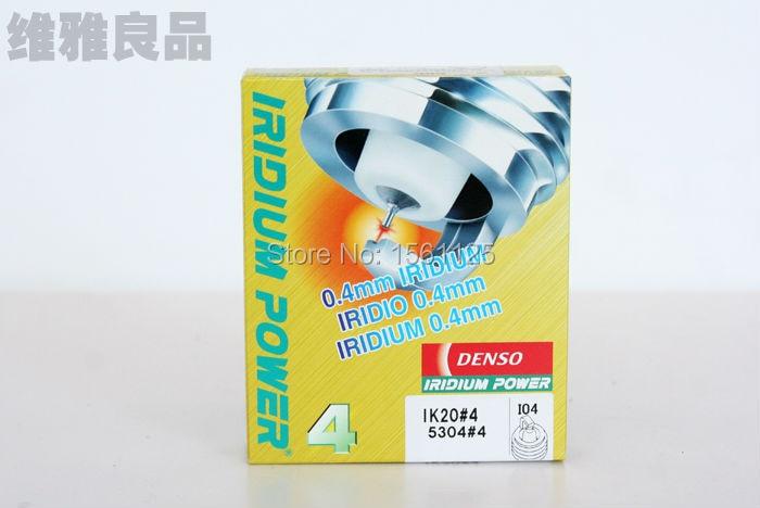 Prix pour 4 pcs/lot Denso IK20 5304 IK16 5303 Japon original Iridium spark plugs pour IK20TT IK16TT BKR6EIX BKR5EIX PK16TT