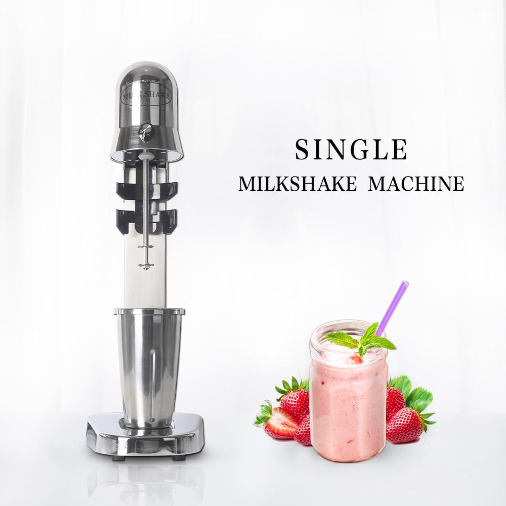 ITOP Electric Milkshake Blender Commercial Single MilkShake Mixers Stainless Steel Milk Foam Mixers Smoothies Blender